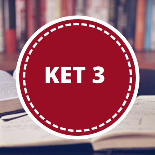 Inglés KET 3 - 1er año