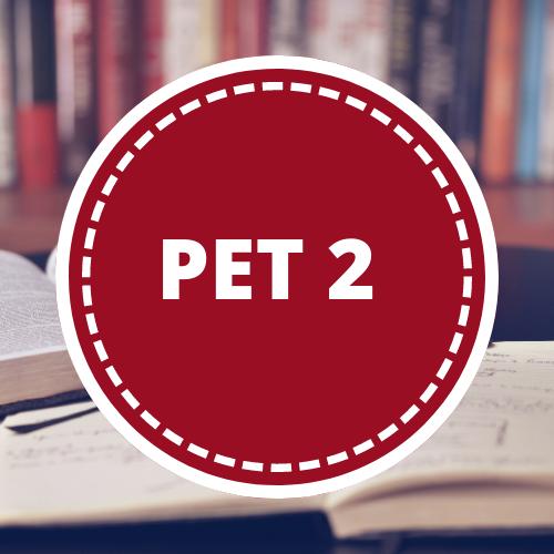 Inglés PET 2 - 2do año