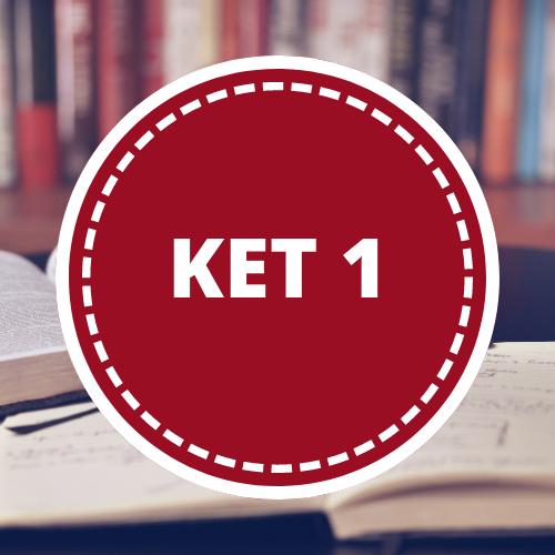 Inglés KET 1 - 2do año