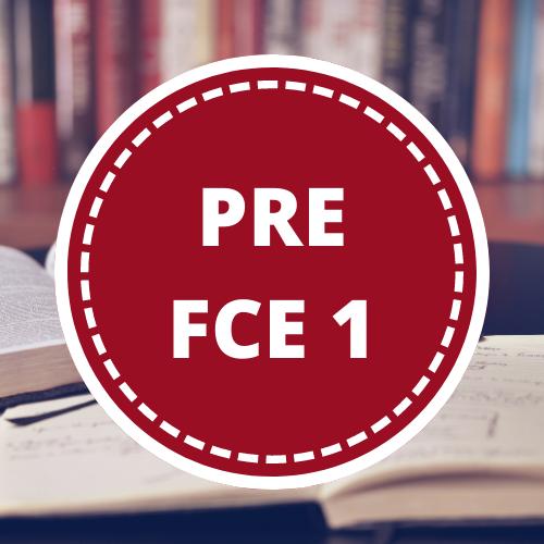 Inglés PRE FIRST 1- 3er año