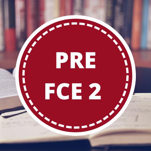 Inglés PRE FIRST 2 - 3er año