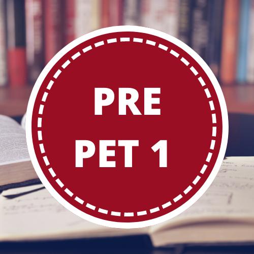 Inglés PRE-PET 1 - 3er año
